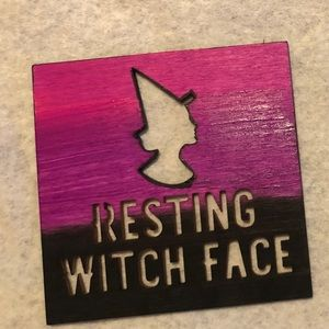 Other - Resting Witch Face Coaster